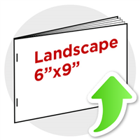 "6""x9"" Landscape Booklet Staple"