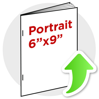 "6""x9"" Portrait Booklet Staple"
