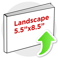 "5.5""x8.5"" Landscape Perfect Bind"