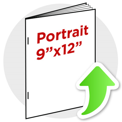 "9""x12"" Portrait Booklet Staple"