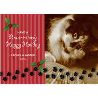 Pawsitively Christmas A7 Flat