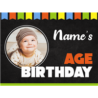 Birthday Celebration Sign - Economy